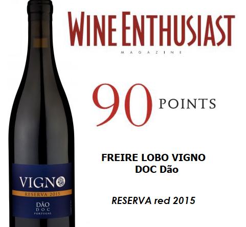 Wine Enthusist Freire Lobo Vigno Reserva 2015